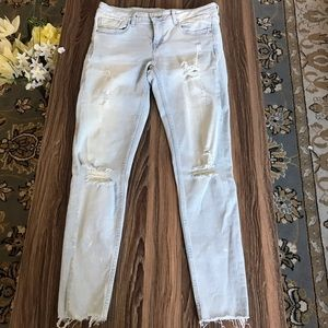 Zara Basic Z1975 Denim Sz 4